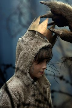 """And now,"" cried Max, ""let the wild rumpus start!"" with a howl, a yelp, a leap, a growl and tender tear...the wretchedly lovely essence of a beautiful little boy... [ Maurice Sendak, Where the Wild Things Are...]"