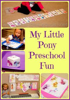 My Little Pony Preschool Fun