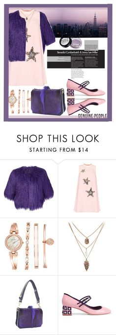 Designer Clothes, Shoes & Bags for Women People Shopping, Anne Klein, Rose Quartz, Tom Ford, Miu Miu, Shoe Bag, Purple, Polyvore, Stuff To Buy