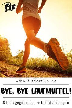 Laufen kann nicht nur anstrengend, sondern auch furchtbar langweilig sein – vor allem, wenn man die Lust daran verloren hat. Doch das muss nicht sein! Wir haben 6 Motivationstipps für dich! #Joggen #Laufen