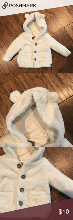 Little bear sweater Gender neutral cream sweater GAP Shirts & Tops Sweaters