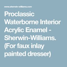 Interior Trim Painting Using A Brush. | Interior Painting With Sherwin  Williams ProClassic | Pinterest