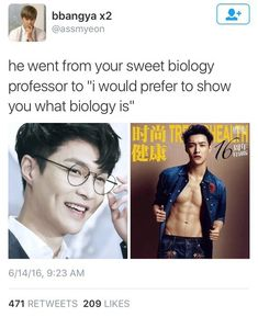 *dies* And suddenly I have no idea what Biology is lmaooooo