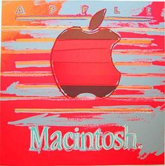 """""""Apple Mac"""" from the Ads series by Andy Warhol #warhol"""