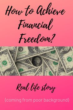 To become financially free, you don't need to be born rich. There are several ways you can take to become financially free - investing, entrepreneurship, etc. Here's a story how one regular guy achieved financial freedom against the odds. Dividend Investing, Value Investing, Ways To Save, Money Management, Stock Market, Personal Finance, Book Review, Entrepreneurship, Real Life
