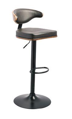 Ashley Furniture D120-330 Black Metal Adjustable Height Stools