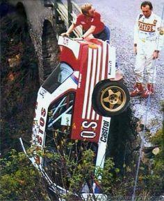 Marc Duez Tour de Corse 1988 BMW - Brought to you by Smart-e Sports Car Racing, Sport Cars, Race Cars, Bmw M3, Rallye Crash, Le Mans, Rally Raid, Bmw Alpina, Abandoned Cars