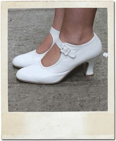 white mary jane shoes   mary jane white 1920 s style shoes these gorgeous shoes are made in a ...