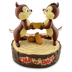 Chip 'N' Dale Figure -- 12'' H | Collectibles | Adults | Disney Parks Authentic | Disney Store | $99.95