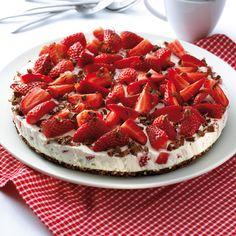 Erdbeer-Schokoknusper-Torte Rezepte | Weight Watchers