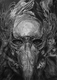 Crow Book cover, Abdulrahman Noureldin on ArtStation at…