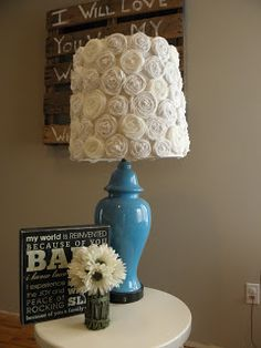 Lampshade redo diy ideas pinterest lampshade redo room lamp lampshade redo all things luci rae i heart lamps aloadofball Images