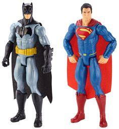 Mattel Batman v Superman: Dawn of Justice Figure (2 Pack), Action & Toy Figures - #Amazon #Canada