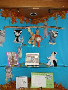 Where the wild things are...if I ever work in an elementary library :)