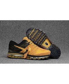 newest 3c90a cf116 Nike Air Max 2017 Gold Black Mens Trainers Cheap Nike Air Max, Mens Fashion,