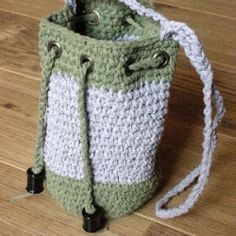 Get your free copy of crochet drawstring bag.