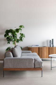 Rivera Sofa - Croft House Design Studio - LA, California – CROFT HOUSE Sofa Set Designs, Modern Sofa Designs, Home Decor Furniture, Sofa Furniture, Furniture Design, Diy Sofa, Living Room Sofa Design, Living Room Designs, Plan Duplex