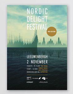 CLEVER°FRANKE  Nordic Delight Festival Identity