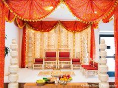 hindu gold cake | Baraat & Ceremony , Featured Indian Weddings , Mandaps & Decor , South ...