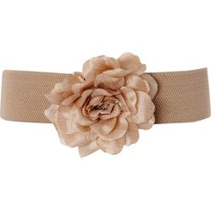 Ladies Elastic Oversized Corsage Belt ($4.32) ❤ liked on Polyvore featuring accessories, belts, cinto, jewelry, women's accessories, womensaccessoriesbelts, oversized belt, sparkly belt and elastic belt