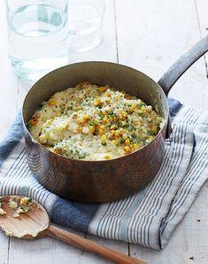 Creamy Corn Polenta