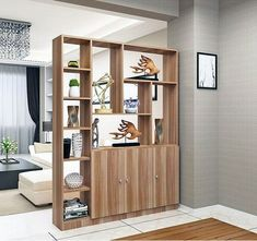 Beautiful Open Kitchens With Unique Partitions And Room Dividers 52 Living Room Kitchen Divider, Living Room Partition Design, Room Partition Designs, Living Room Decor, Partition Ideas, Kitchen Dining, Dining Room, Home Room Design, Home Interior Design