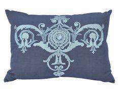 Callisto Home Lavender Linen Pillow | The Local Vault