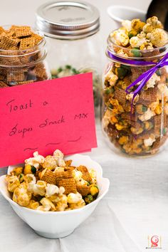 Popcorn Nut Mix | Christmas Edible Gift - Super Snack Mix — KarthisKitchenStudio