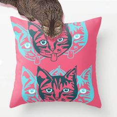 Check it out!! ..That's me on the pillow!! 😺 ..some amazing human bought this 'Mollycat Close-up' pillow design from the Mollycat Collection at Society6! (Follow link in profile) #onehappycat *** 30% OFF EVERYTHING With Code S6FAM ends tonight at midnight PT!! **** . . #sold #society6 #art #interiordesign #accessories #catseyes #mollycatfinland #catlovers #society6design #catdesign #graphic #artist #giftideas #shareyoursociety6 #bestofme #pillowoftheday #cushion #society6pillows #creation…