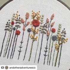 @andotheradventuresco #needlework #handembroidery #broderie #bordado #ricamo #embroidery