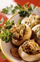 recettes - Champignons farcis au Fromage pour Tartiflette et aux lardons
