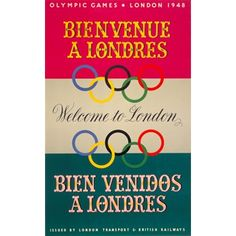 Olympic Games; welcome to London (1948) £70