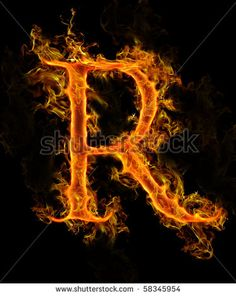 d9fa8d36958 r gothic fire letter - Google Search