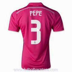 Nueva camiseta de Pepe 2nd Real Madrid 2015 baratas
