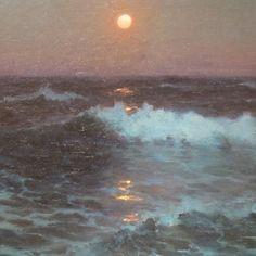 Moonlight (detail), 1902 oil on canvas Lionel Walden