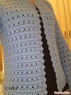 14 Crochet cardigan pattern by Hitomi Shida (志田 ひとみ) Gilet Crochet, Crochet Cardigan Pattern, Crochet Shirt, Crochet Jacket, Cotton Crochet, Crochet Yarn, Crochet Stitches, Lace Knitting, Crochet Designs