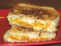 Delicious and Healthy Grilled Cheese Sandwich