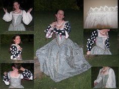 I made this a few weeks ago, as a last minute decision that I absolutely needed at least one more dress for Pennsic. I got most of the bodice done at home, but did all the skirt and finishing while...