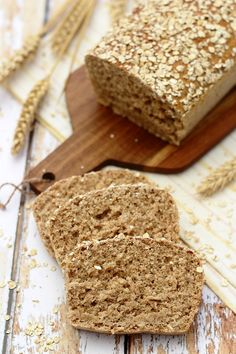 Oat wholemeal bread (without bread machine) - Amandine Cooking - Ilka Burburough Cooking Light Recipes, Cooking Wine, Wine Recipes, Italian Cooking, Thermomix Recipes Healthy, Cooking Mustard Greens, Cooking Red Potatoes, Cooking Chicken Wings, Ww Desserts
