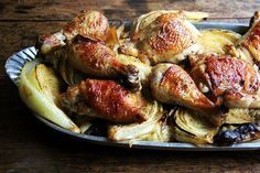 Sheet Pan Roast Chicken and Cabbage recipe on Food52