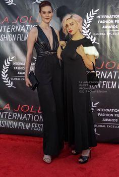 Carmel McAndrews and Ryan Rosewell La Jolla Fashion Film Festival UC San Diego Dark Mirror Pictures Film Fashion, Fashion Beauty, Red Carpets, La Jolla, Film Festival, San Diego, Awards, Gowns, Lifestyle