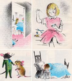 """Mouse House"" by Rumer Godden, illustrated by Adrienne Adams  (1968)   (http://www.etsy.com/listing/113771785/mouse-house-by-rumer-godden-illustrated)"