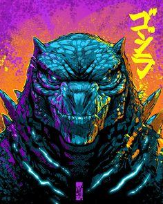 All Godzilla Monsters, Godzilla Comics, Swag Cartoon, Godzilla Party, King Kong Vs Godzilla, Character Art, Character Design, Godzilla Wallpaper, Arte Sketchbook
