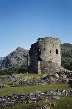 13th century Dolbadarn Castley, built by Llywelyn the Great, North Wales, UK