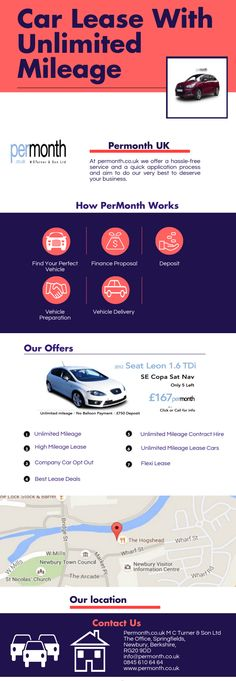 #Car #Leasing #Deals With #UnlimitedMileage @ http://www.permonth.co.uk/