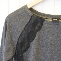 DIY JASON WU INSPIRED LACE EMBELLISHED SWEATSHIRT