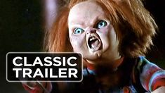 Child's Play 2 Official Trailer #1 - Chucky Movie Sequel (1990) HD