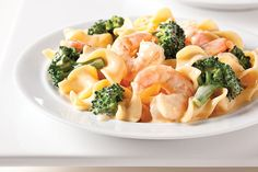 If you like stroganoff and shrimp, this entrée has your name written all over it. It's packed with noodles, broccoli and shrimp—not to mention flavor!