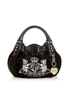 Juicy Couture Handbag Daydreamer Animal Velour Satchel Satchels Handbags Accessories Macy S Pinterest