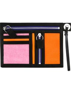 KENZO Multi Pocket Clutch. #kenzo #bags #leather #clutch #cotton #hand bags